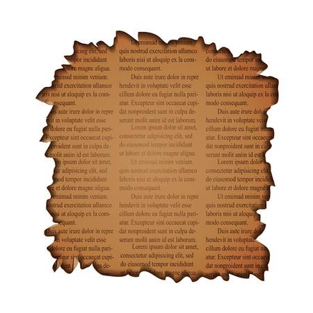 texture: newspaper texture Illustration