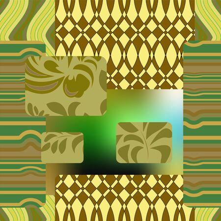 patchwork: seamless patchwork pattern