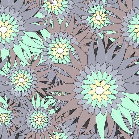 russia seamless floral pattern.slavs design. vector illustration