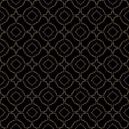 orient: vector seamless pattern. abstract orient design. illustration