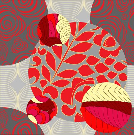 oriental vector: vector seamless patchwork pattern. oriental design