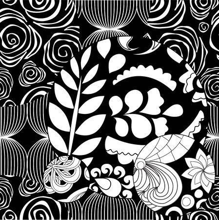 patchwork pattern: vector seamless patchwork pattern. oriental design