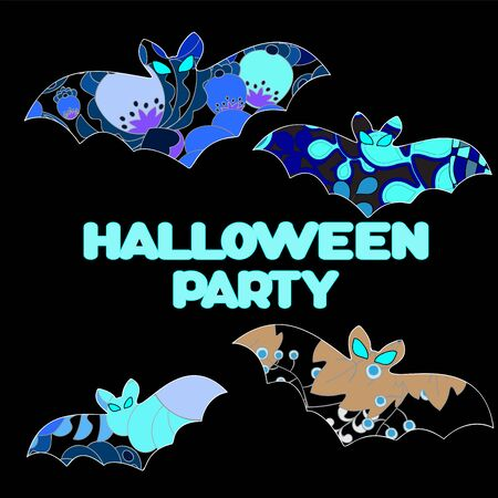 halloween background: vector halloween background