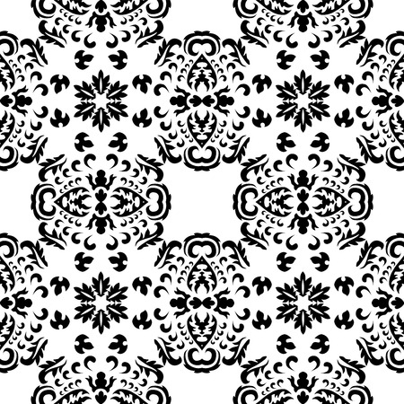 orient: stock seamless orient floral pattern
