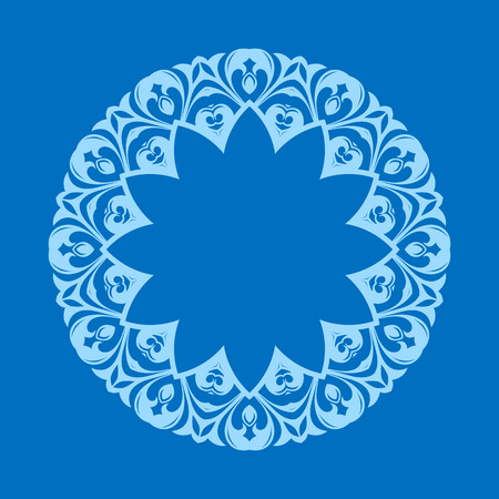 middle eastern: Vector abstract pattern background of traditional designs Illustration