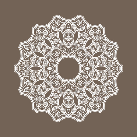 eastern religion: Vector abstract pattern background of traditional mandala designs Illustration