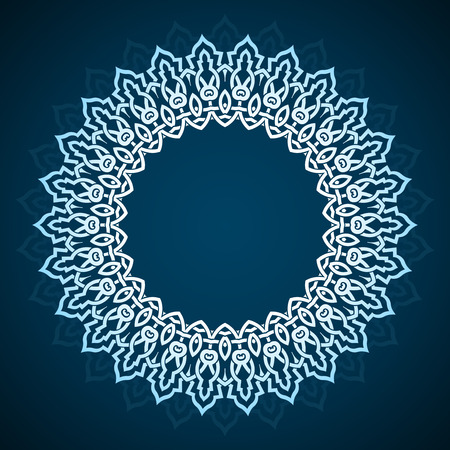 ornaments vector: Circular abstract background - Design elemnt