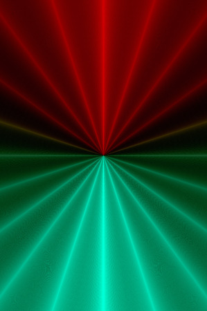 Radial glowing abstract   版權商用圖片