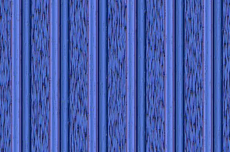 streak plate: Decorative vertical striped shiny relief wall - cyan