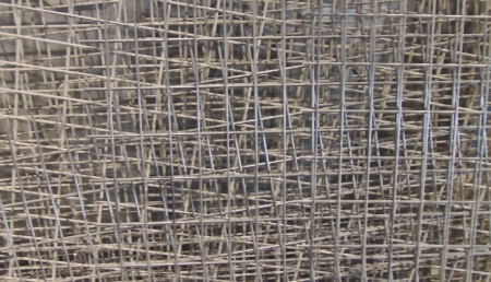 metal grate: Metal Fencing Stack