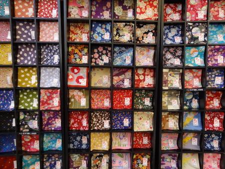 handkerchiefs: background handkerchiefs colorful Stock Photo