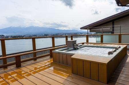 onsen in japan Reklamní fotografie - 21393856