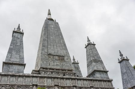 stu: White pagoda in southern Thailand