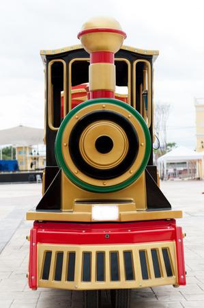 Imitation toy train photo