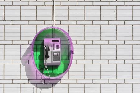 payphone: Public telephone