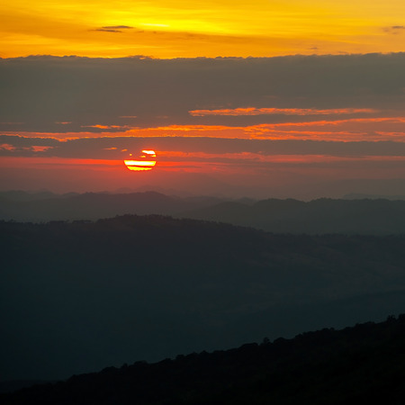 Sunset in Valley View photo