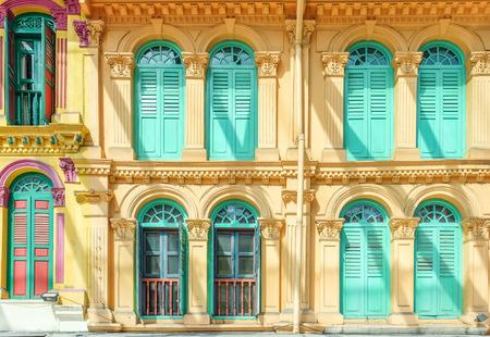 Window and door colorful photo
