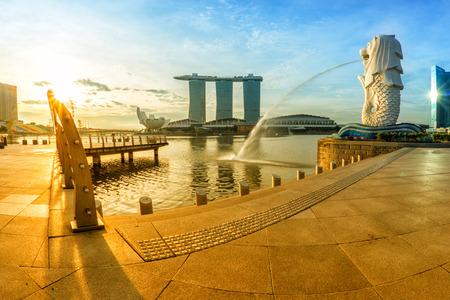 Singapore cityscape view Reklamní fotografie - 38954862