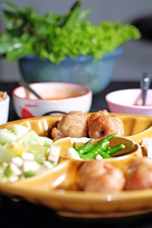 nam: Vietnamese Meatball Wraps Nam Neung
