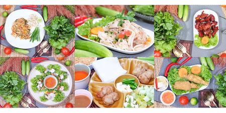 hoisin: Vietnamese style food Stock Photo