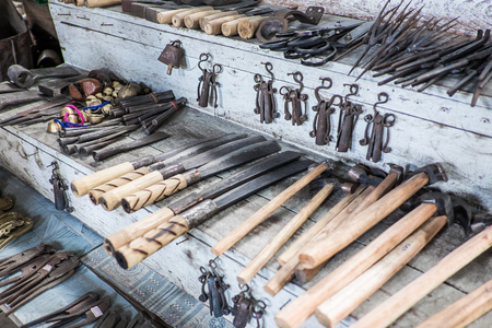 livelihood: Tools livelihood of the people of Myanmar.