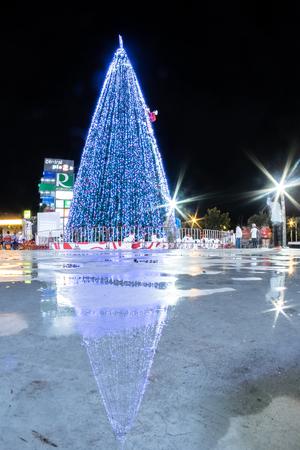 khon: Khon Kaen, Thailand - November 21: The front of the Central Plaza shopping mall in November 21.2014 Khon Kaen city.