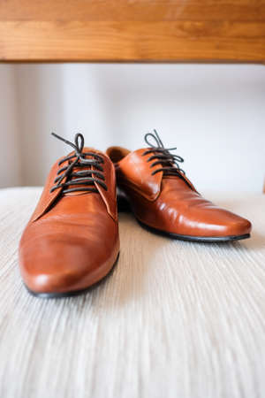 brown leather: Brown leather shoes