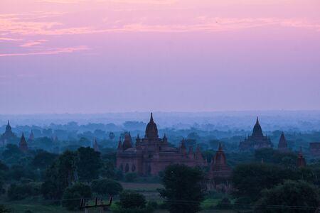 bagan: Bagan temples sunrise, Myanmar