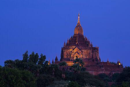 bagan: temples in Bagan, Myanmar