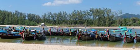 krabi: Thai boat in Krabi,Thailand Stock Photo