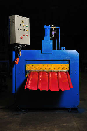 elevator operator: machine for rolling steel sheet in warehouse, Cold rolled steel coil