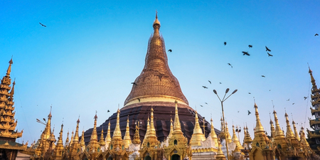 five years': Shwedagon Pagoda repair every five years at a time so as not to become black gold.