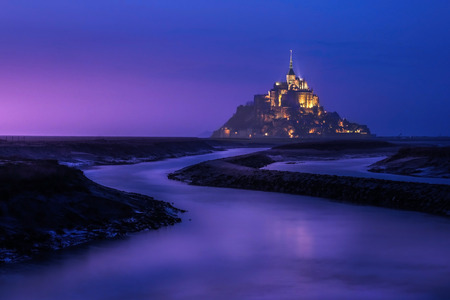 michel: Mont saint michel in France Editorial