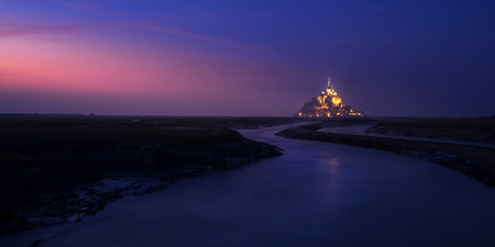 mont: Mont saint michel in France Editorial