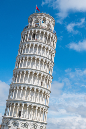 View of the Pisa Cathedral in Pisa, Italy Stock Photo