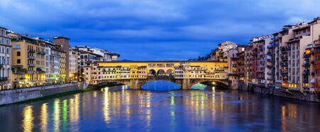 ponte: Florence, Ponte Vecchio night view