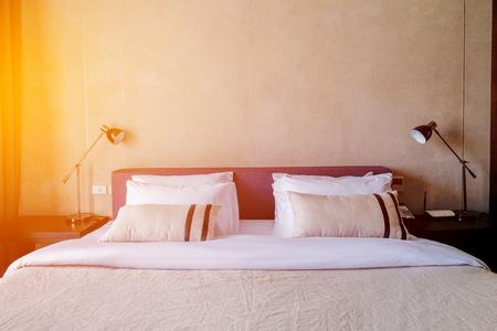 luxury living room: White Room in luxury hotel illuminated by sunlight