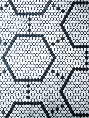 Hexagon Honeycomb Background Detail and Close up