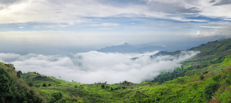 Phu Thap Boek sea of fog In Phetchabun, Thailand