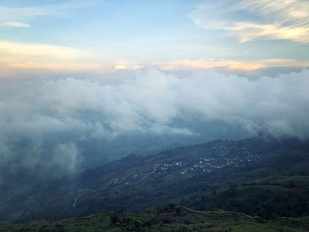 Phu Thap Boek sea of fog In Phetchabun, Thailand