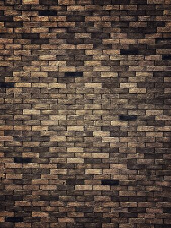 Vintage Brick wall background and texture