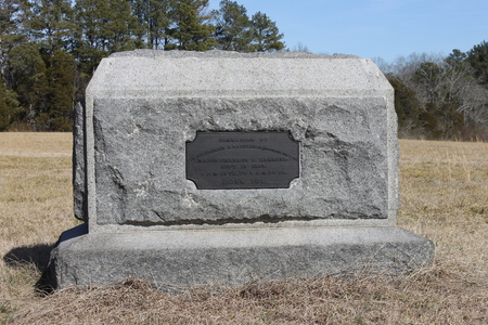 stone at the Military Park