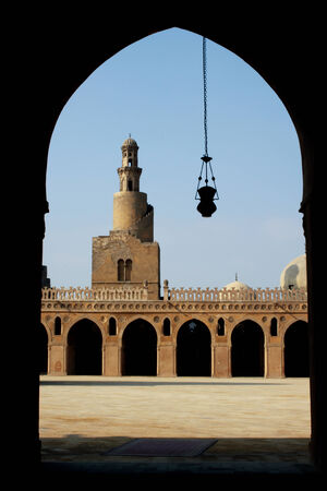 ibn: Mosque of Ibn Tulun , Cairo , Egypt