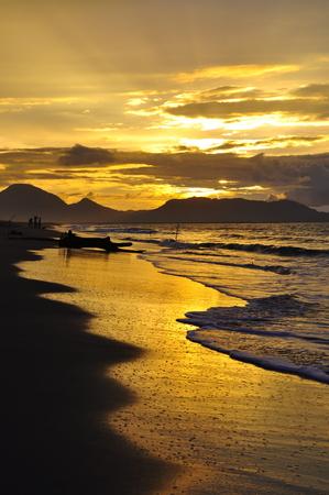 Sunset in Alue Naga, Banda Aceh-Indonesia