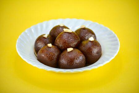 Indian Dessert or Sweet Dish Gulab Jamun