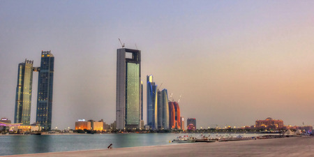 abudhabi: buildings