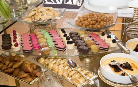 tarts: Assorted fruit tarts