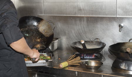 live cooking photo