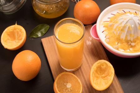 pannel: fresh Orange Juice making