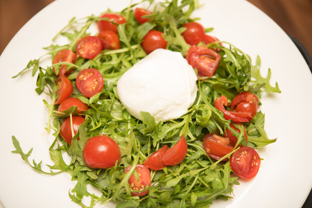 cherry tomatoes: salad with cherry tomatoes cheese